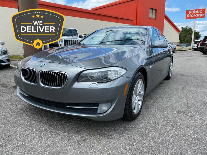 2012 BMW 5 Series for sale at JC AUTO MARKET in Winter Park FL