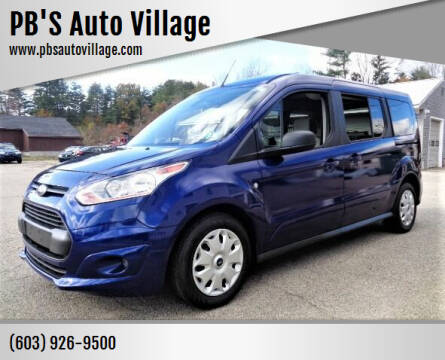 2016 Ford Transit Connect Wagon for sale at PB'S Auto Village in Hampton Falls NH