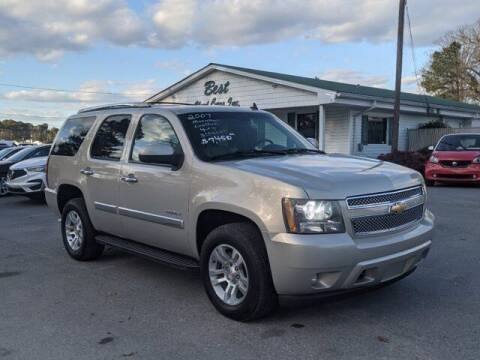 2007 Chevrolet Tahoe for sale at Best Used Cars Inc in Mount Olive NC