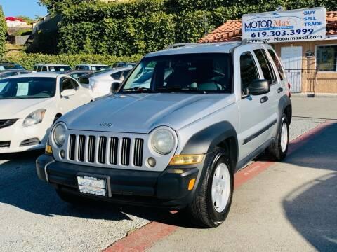2006 Jeep Liberty for sale at MotorMax in Lemon Grove CA