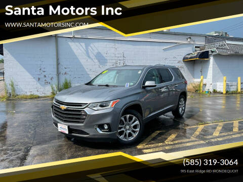 2018 Chevrolet Traverse for sale at Santa Motors Inc in Rochester NY