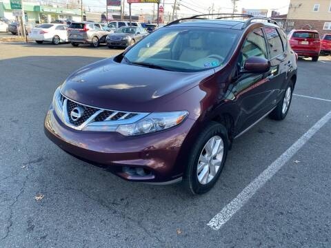 2013 Nissan Murano for sale at MAGIC AUTO SALES in Little Ferry NJ