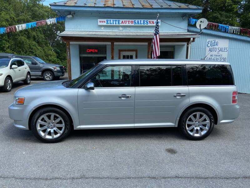 2012 Ford Flex for sale at Elite Auto Sales Inc in Front Royal VA