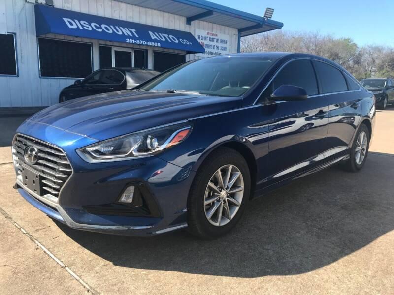 2018 Hyundai Sonata for sale at Discount Auto Company in Houston TX