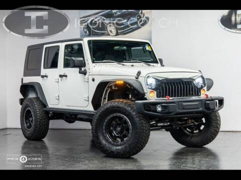 2009 Jeep Wrangler Unlimited for sale at Iconic Coach in San Diego CA