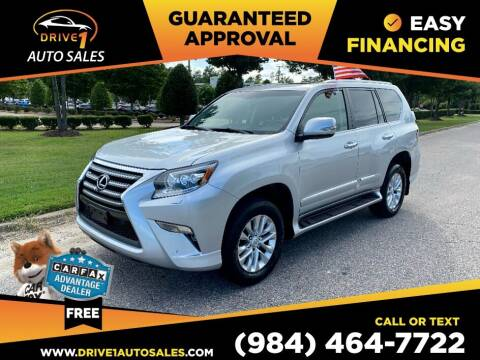 2015 Lexus GX 460 for sale at Drive 1 Auto Sales in Wake Forest NC