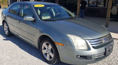 2006 Ford Fusion for sale at COOPER AUTO SALES in Oneida TN