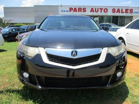 2010 Acura TSX for sale at Pars Auto Sales Inc in Stone Mountain GA