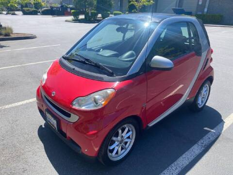 2009 Smart fortwo for sale at Washington Auto Loan House in Seattle WA