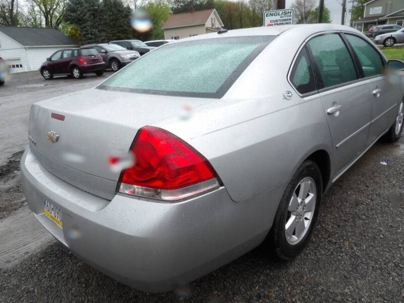 2006 Chevrolet Impala for sale at English Autos in Grove City PA