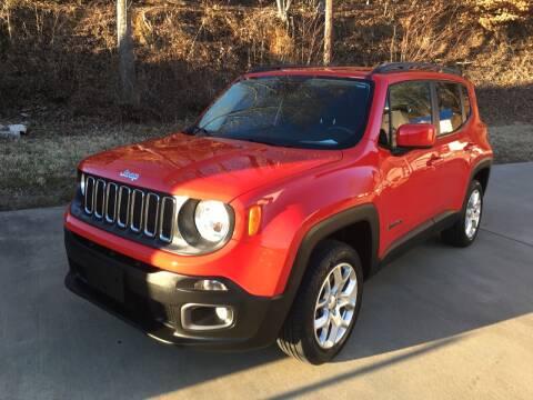2016 Jeep Renegade for sale at Tim Harrold Auto Sales in Wilkesboro NC