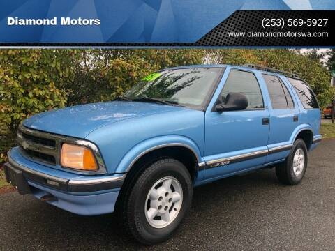 1997 Chevrolet Blazer for sale at Diamond Motors in Lakewood WA