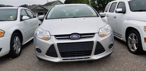 2014 Ford Focus for sale at Sissonville Used Cars in Charleston WV