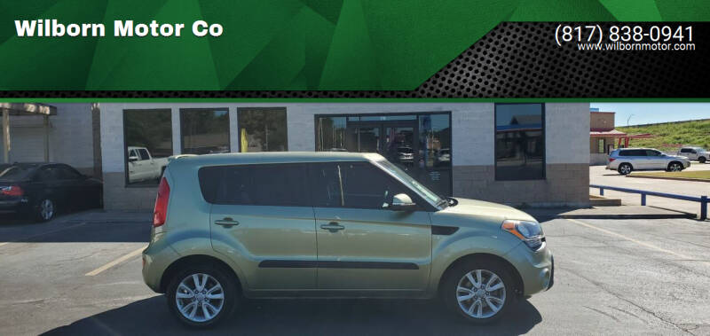 2012 Kia Soul for sale at Wilborn Motor Co in Fort Worth TX