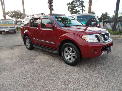 2008 Nissan Pathfinder for sale at MOTION TREND AUTO SALES in Tomball TX