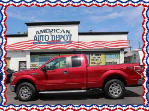 2010 Ford F-150 for sale at American Auto Depot in Modesto CA