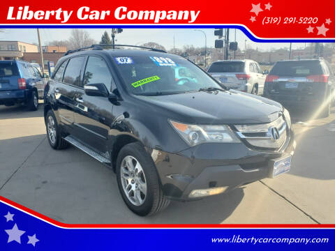 2007 Acura MDX for sale at Liberty Car Company in Waterloo IA