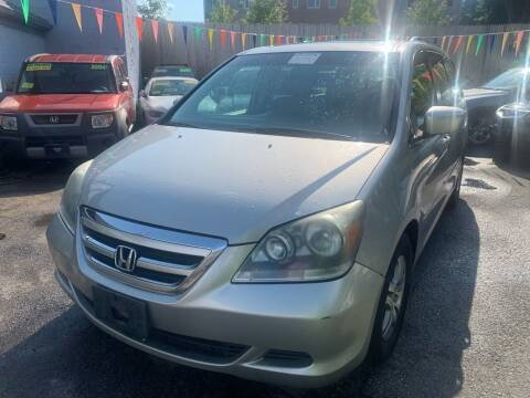 2005 Honda Odyssey for sale at Polonia Auto Sales and Service in Hyde Park MA