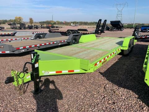 2022 Midsota TB-22 15.4K Split Tilt #0408 for sale at Prairie Wind Trailers, LLC in Harrisburg SD
