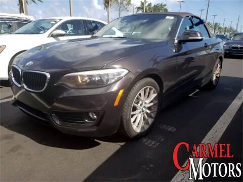 2015 BMW 2 Series for sale at Carmel Motors in Indianapolis IN