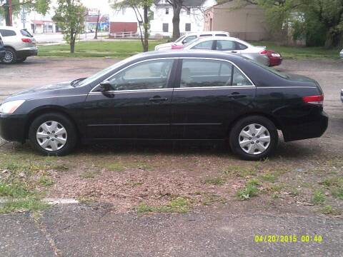 2003 Honda Accord for sale at D & D Auto Sales in Topeka KS