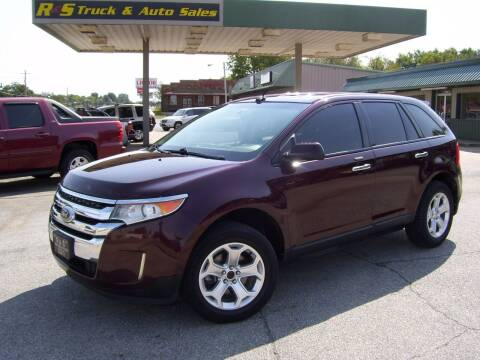 2011 Ford Edge for sale at R & S TRUCK & AUTO SALES in Vinita OK