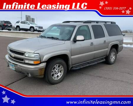 2003 Chevrolet Suburban for sale at Infinite Leasing LLC in Lastrup MN