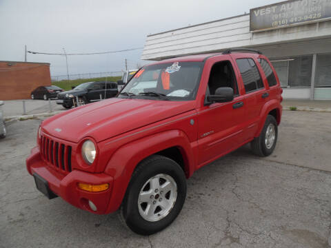 2004 Jeep Liberty for sale at VEST AUTO SALES in Kansas City MO