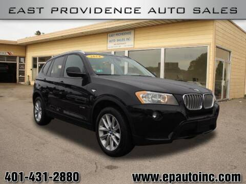 2014 BMW X3 for sale at East Providence Auto Sales in East Providence RI