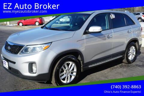 2015 Kia Sorento for sale at EZ Auto Broker in Mount Vernon OH