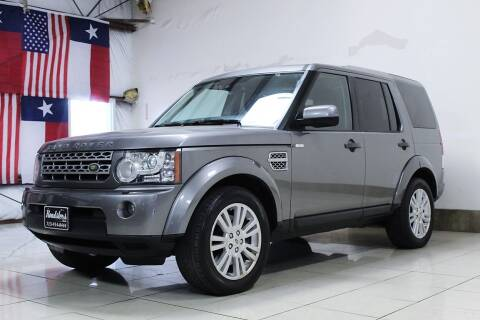 2010 Land Rover LR4 for sale at ROADSTERS AUTO in Houston TX