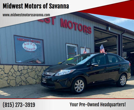 2013 Ford Fiesta for sale at Midwest Motors of Savanna in Savanna IL