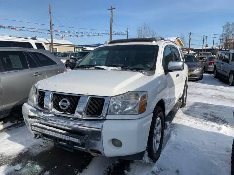 2007 Nissan Armada for sale at ALASKA PROFESSIONAL AUTO in Anchorage AK