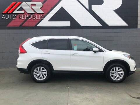 2015 Honda CR-V for sale at Auto Republic Fullerton in Fullerton CA