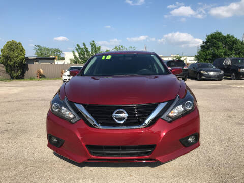 2018 Nissan Altima for sale at SOUTHWAY MOTORS in Houston TX