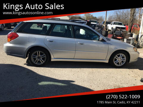 2005 Subaru Legacy for sale at Kings Auto Sales in Cadiz KY