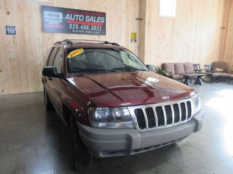 2003 Jeep Grand Cherokee for sale at Boone NC Jeeps-High Country Auto Sales in Boone NC