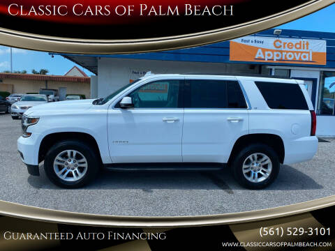 2020 Chevrolet Tahoe for sale at Classic Cars of Palm Beach in Jupiter FL