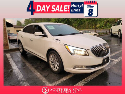 2016 Buick LaCrosse for sale at Southern Star Automotive, Inc. in Duluth GA