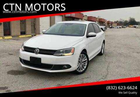 2011 Volkswagen Jetta for sale at CTN MOTORS in Houston TX
