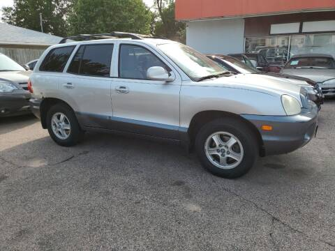 2003 Hyundai Santa Fe for sale at RIVERSIDE AUTO SALES in Sioux City IA