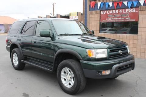 1999 Toyota 4Runner for sale at NV Cars 4 Less, Inc. in Las Vegas NV