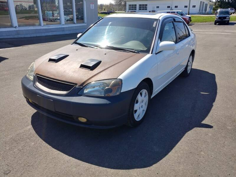 2002 Honda Civic for sale at RIDE NOW AUTO SALES INC in Medina OH