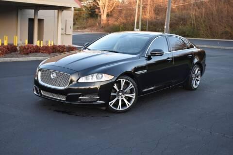 2011 Jaguar XJL for sale at Alpha Motors in Knoxville TN