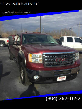 2013 GMC Sierra 2500HD for sale at 9 EAST AUTO SALES LLC in Martinsburg WV