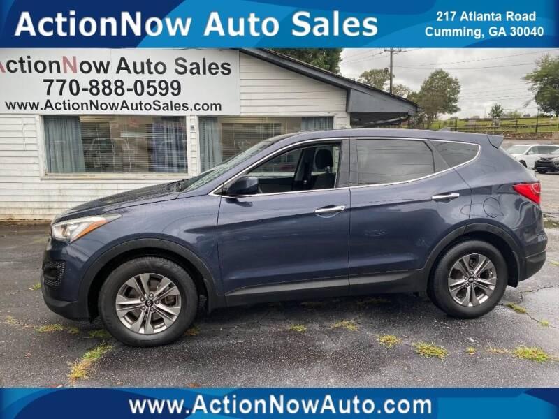 2016 Hyundai Santa Fe Sport for sale at ACTION NOW AUTO SALES in Cumming GA