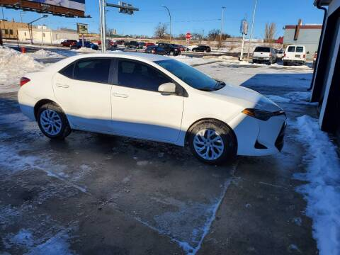 2018 Toyota Corolla for sale at GOOD NEWS AUTO SALES in Fargo ND