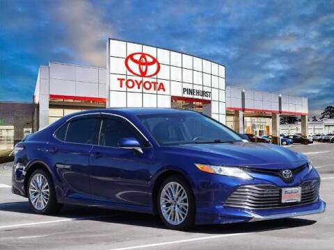 2018 Toyota Camry for sale at PHIL SMITH AUTOMOTIVE GROUP - Pinehurst Toyota Hyundai in Southern Pines NC
