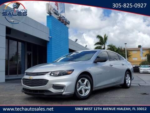 2017 Chevrolet Malibu for sale at Tech Auto Sales in Hialeah FL