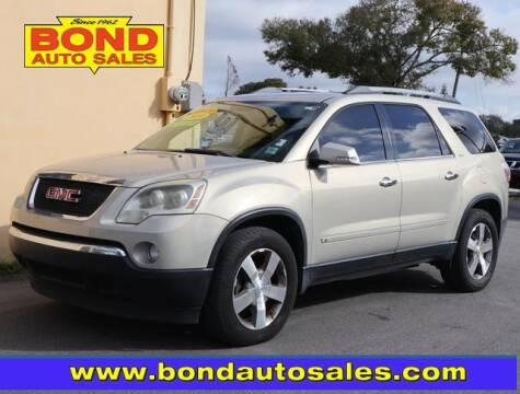 2010 GMC Acadia for sale at Bond Auto Sales in St Petersburg FL